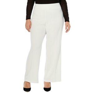 INC Intl Concepts Wide Leg Pants Slacks Ivory NWT